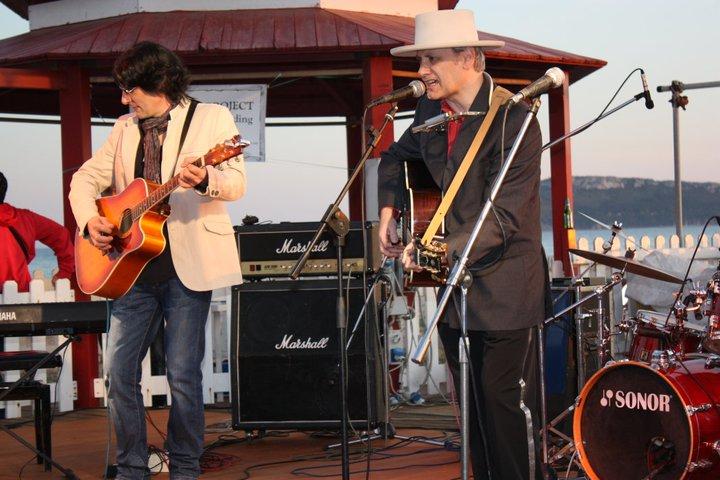 Al Diesan and Pino in Sardinia Live Aid