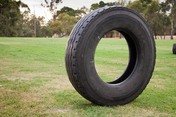 Fit camp tyre