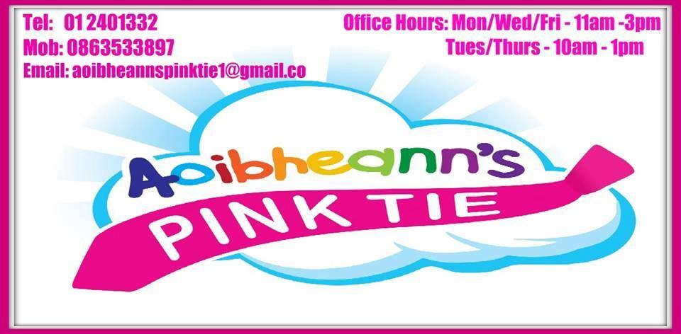 McMen aoibheann pink tie