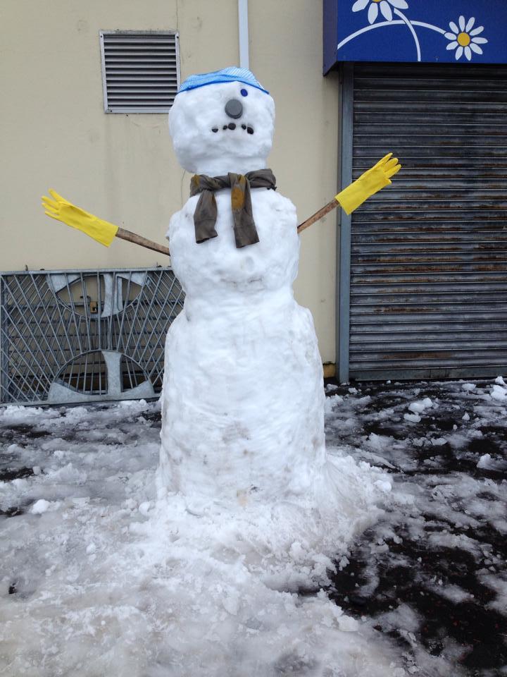 Snowman North West Memorials