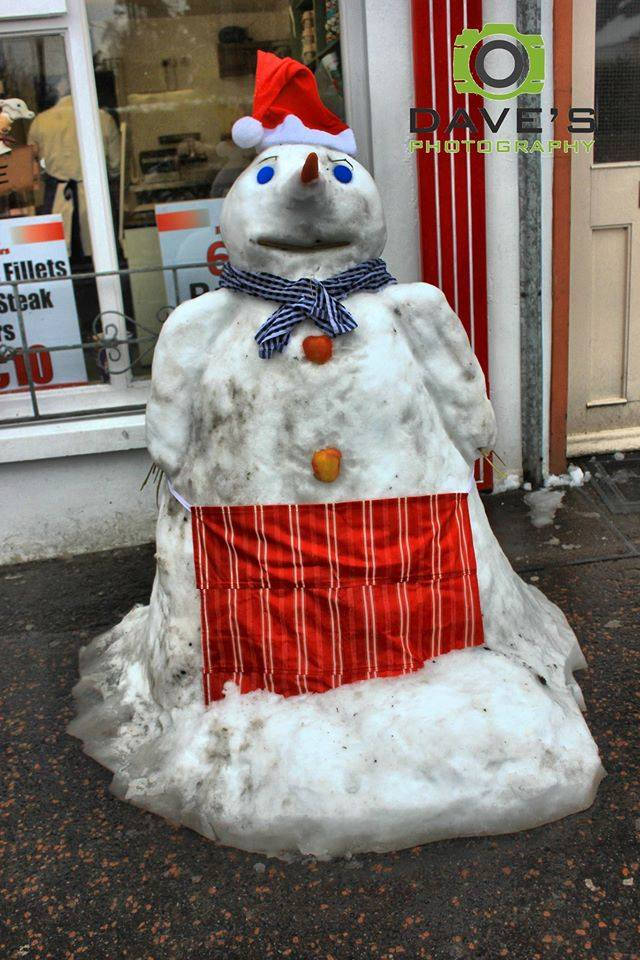 Snowman butchers