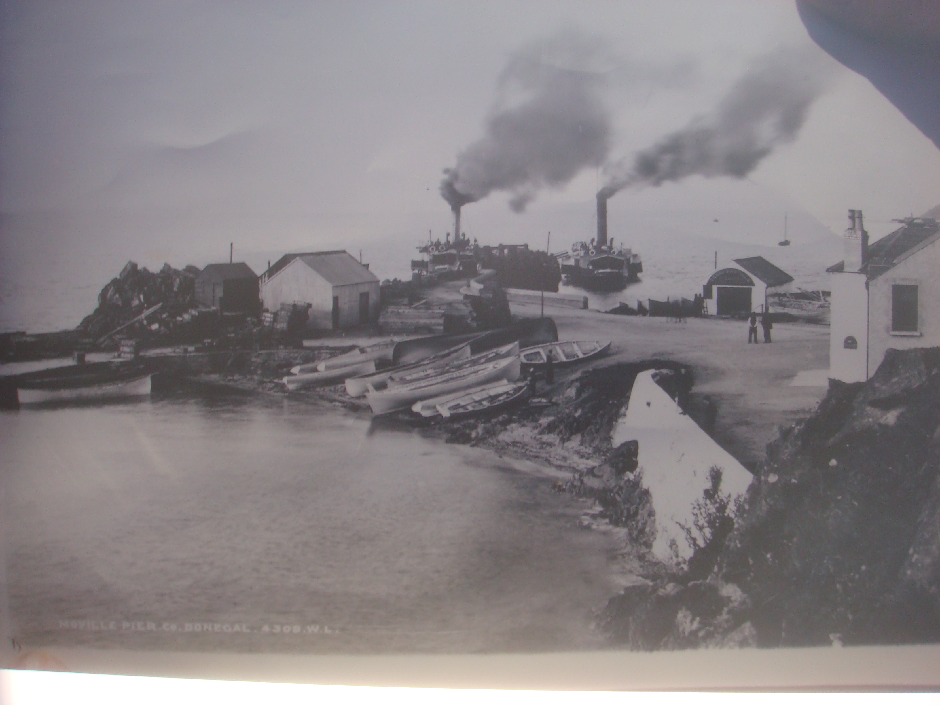 Moville in the olden days