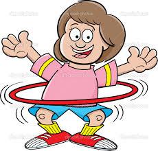 fit, hula hoop!