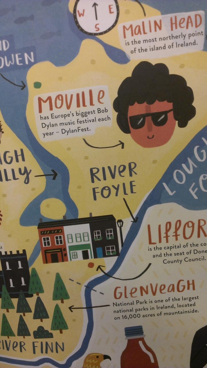 Irelandopedia DylanFest on the Lough Close up