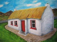 cosy cottage, Moville