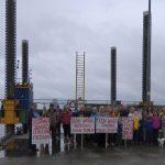 Carrickarory Pier Protest